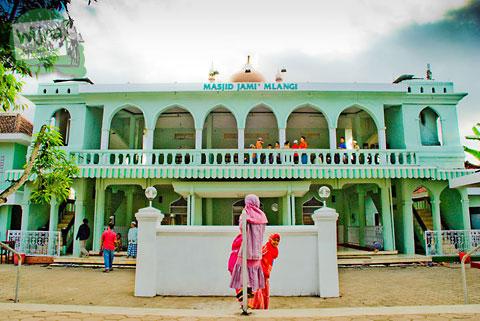 masjid pathok negoro, an-nur mlangi, di mlangi, gamping di tahun 2010