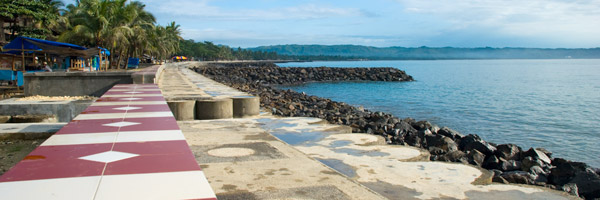 Pesona Pantai Pangandaran bulan Desember 2008