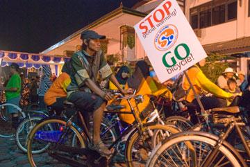 Sego Segawe Go Green di Malam Tahun Baru 2010