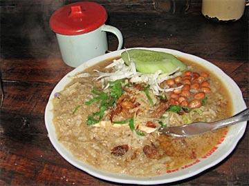 Nasi rebusnya warung Bakmi Gilang I