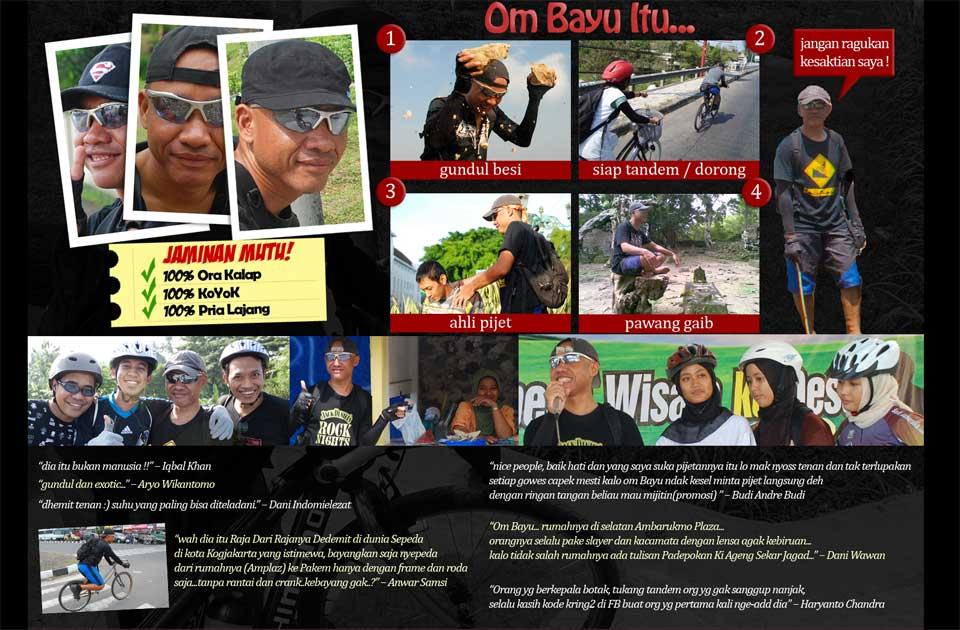Kesaktian Bayu Indratomo alias Ki Ageng Sekar Jagad