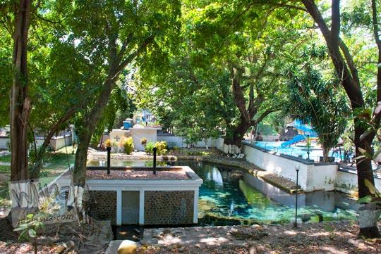 Mata air Umbul Cokro, Klaten yang tertutup untuk umum di tahun 2009