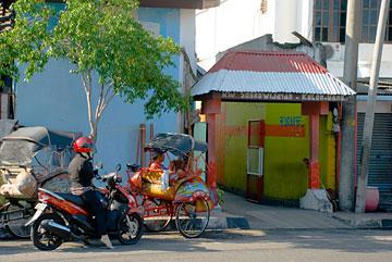 gerbang masuk Sosrowijayan Kulon