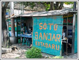 Foto Suasana Warung Soto Banjar Kotabaru pada November 2008