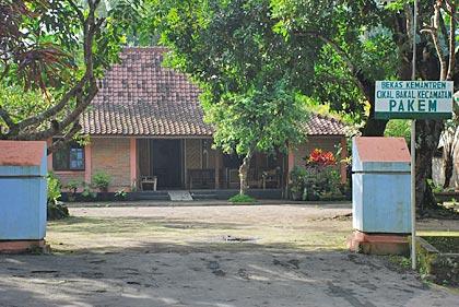 Rumah Joglo Sorowulan dahulunya bekas kantor mantri, cikal-bakal Kecamatan Pakem.