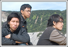 Foto Gunung Tangkuban Perahu tahun 2007 saat masih sepi dari pengunjung