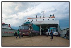 Foto Kapal Ferry Bali zaman dulu tahun 2008