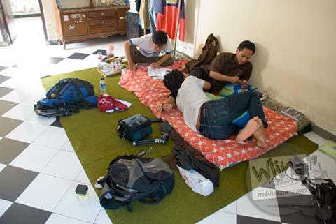 Foto Pagi hari di Hari Pertama Keliling Bali pada Februari 2009