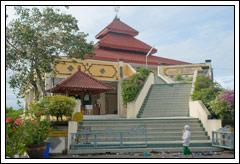 Foto Masjid Ibnu Batuta di Bali pada Februari 2009