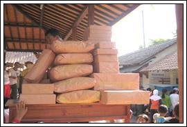 doorprize gerak jalan perayaan 17 agustus di desa Kebondalem Kidul, Prambanan, Klaten