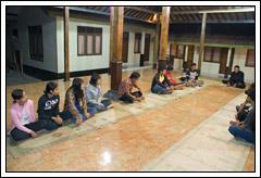 Rapat pemuda-pemudi desa Kebondalem Kidul, Prambanan, Klaten di zaman dulu