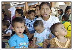 Penyuluhan balita desa Kebondalem Kidul, Prambanan, Klaten di zaman dulu
