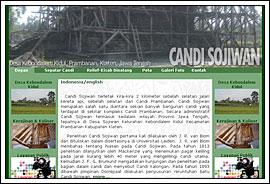 Foto Screenshot Website Candi Sojiwan