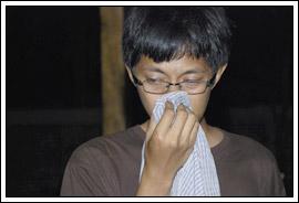 mahasiswa kuliah kerja nyata (kkn) menangis saat perpisahan