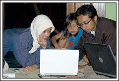 Program Kerja Pelatihan Komputer oleh Mahasiswa KKN UGM di Desa Kebondalem Kidul, Prambanan, Jawa Tengah