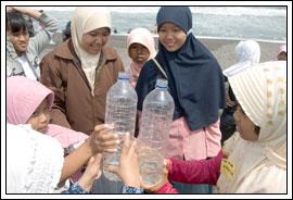 Foto games outbond anak-anak Kebondalem Kidul